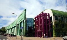 Warsaw University Library, photo: © Marek and Ewa Wojciechowscy / Trips over Poland / & GDFL Warsaw University, Destruction, Places Ive Been, 1, Europe, Travel, Crayons, Monuments, Nom Nom