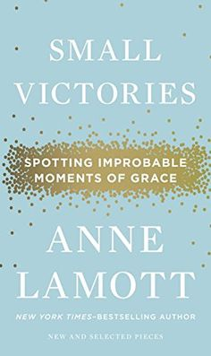 Small Victories: Spotting Improbable Moments of Grace by Anne Lamott http://www.amazon.com/dp/1594486298/ref=cm_sw_r_pi_dp_zLh5vb0V74W2R