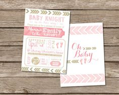 Personalized Baby Shower Invitations