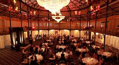 Getting social at the 'Old Rider's Hall' for dinner and drinks at CST EUC 2013.