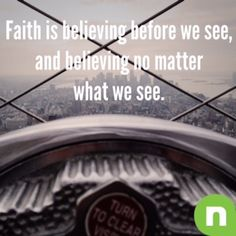 What It Means to Believe | Devotionals | NewSpring Church