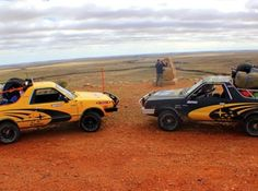 Subaru Brumbys in the Outback