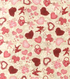 Holiday Inspirations Fabric- Key To My Heart : holiday fabric : fabric :  Shop | Joann.com
