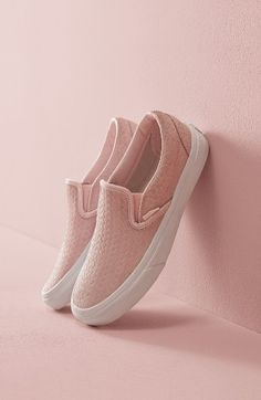 "Vans Classic Slip-On Sneaker for women in ""Rosewater"""