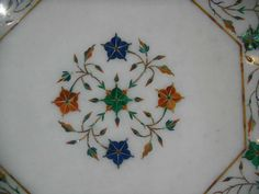 White Marble coffee Table / Octagon End Tables Hand Made Stone Inlaid Pietra Dura Antique Art  #accenttables #AntiqueCoffeeTable #coffeetables #endtables #marblecoffeetables #marbleinlaytables #octagoncoffeetable #octagonendtables #octagonmarbletable #rustictable #sofatables #stoneinlaytables #Whitemarbletable:separator: