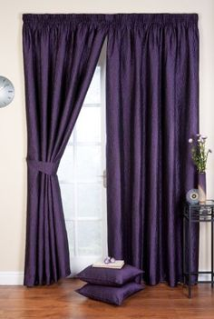 "Ripple Ready Made Curtains Pencil Pleat (Amethyst, 45"" x 72"" (114cm x 183cm)) , http://www.amazon.co.uk/dp/B00BS9FHSM/ref=cm_sw_r_pi_dp_mEksrb167H55Q"
