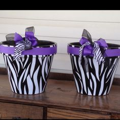Whoever I marry is going to have to LOVE zebra print and monogramed stuff!