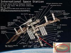 Disso Voce Sabia - Extraterrestres: SURPREENDENTE: IMAGENS CONCLUSIVAS DO UFO QUE ACOPLOU NA ESTAÇÃO ESPACIAL INTERNACIONAL!!!