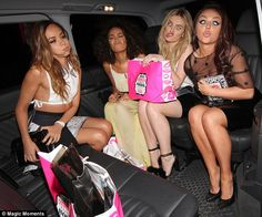 When someone asks me who my music inspiration is I'll say little Mix. Then show them this picture and say that's why. lol