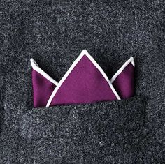 How to fold the pocket square, three peaks, other folds also Pocket Square Folds, Pocket Square Styles, Pocket Squares, Carol Kirkwood, Tie Knots, Wedding Colors, Men Dress, Mens Fashion, Neck Ties