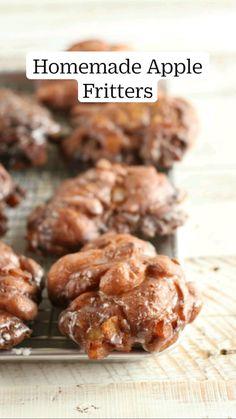Easy Baking Recipes, Easy Cookie Recipes, Donut Recipes, Apple Recipes, Pumpkin Recipes, Dessert Recipes, Baking Tips, Brunch Recipes, Bread Recipes