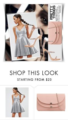 """""""Bez naslova #79"""" by fashion-with-lela ❤ liked on Polyvore featuring Post-It, ASOS and Giuseppe Zanotti"""