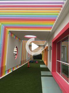 Kindergarten architecture design project plan exterior #education #educationforkids