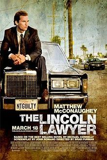 The Lincoln Lawyer is a 2011 American thriller film adapted from the novel of the same name by Michael Connelly, starring Matthew McConaughey, Ryan Phillippe, William H. Macy and Marisa Tomei.