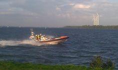 KNRM Dordrecht   KBW1910 vertrokken richting IJmuiden voor groot onderhoud, vervanger arriveerd deze middag