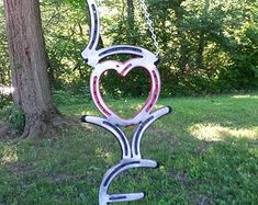 Custom made Horse Shoe Designs. This piece by LawsonsMetalCreation