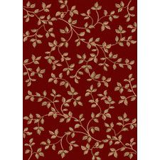 Makamba Red/Tan Area Rug