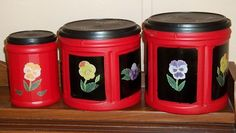 Coffee Container Crafts | Fabulous Folger's Coffee Plastic Container Upcycle