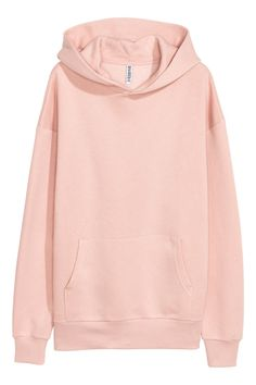 f589c4cc Oversized Hooded Sweatshirt - Light pink - Ladies | H&M US 1 Outfit  Maker