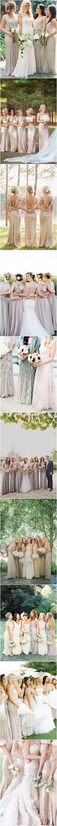 40+ Sequined and Metallic Bridesmaid Dresses - See more at: http://www.deerpearlflowers.com/2015-wedding-trends-sequined-metallic-bridesmaid-dresses/#sthash.w7SGv3DY.dpuf