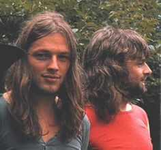 David Gilmour and Rick Wright