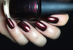Opi Germany collection for Fall Winter 2012: German-icure by OPI nail polish