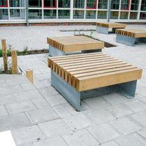 orange outdoor public seating google search landscape modern