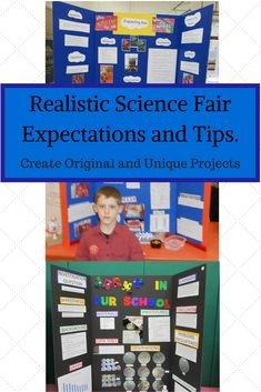 Learn realistic expectations for K-5th Grade Science Fair Projects.  Get tips and ideas too.