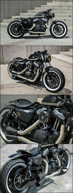 Custom Harley Davidson Sportster 48.