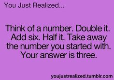 It works with any number! If it doesn't work then you did it wrong...
