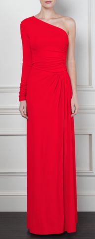 GORGEOUS COUTURE - The Gilly Maxi Red - Hire £69