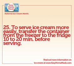 Cut some time off of serving for your big party! #IceCreamMonth