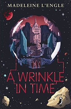 In this novel Charles goes searching for his lost father through a wrinkle in time with his sister Meg and friend Calvin. They find themselves on an evil planet, where all life is ruled by a huge, pulsating brain known as IT.