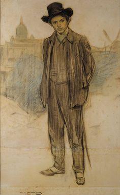 Ramón Casas Carbó Pablo Picasso,1897-1899