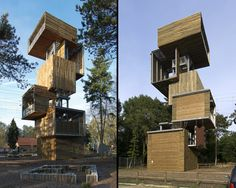 Viewing tower by Ateliereen architectien, 2009