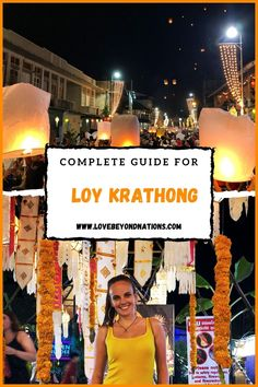 One of the most romantic experiences we have ever witnessed is the festival of lights in Chiang Mai - Loy Krathong and Yi Ping! Festival Lights, Chiang Mai, Most Romantic, Travel Guide, Times Square, Travel Guide Books
