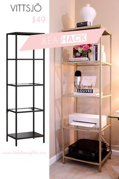 Ikea Hack - VITTSJÖ - Little House of Chic