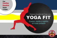 Yoga Fit, una manera diferente de hacer Yoga. #Yoga #Gym #Tonificacion #Ejercicios #relajacion #meditacion