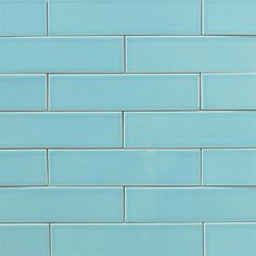 Ceramic Subway Tile For Kitchen Backsplash Or Bathroom In Blue Color Splash