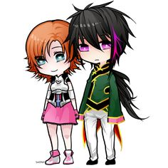 Nora Valkyrie + Lie Ren (RWBY) by teuffels. So freakin' cute, love these two!