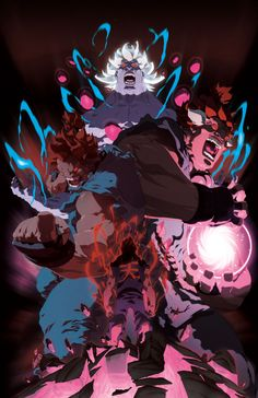 Evolution of a demon by =theCHAMBA on deviantART