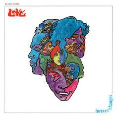 Love - Forever Changes album cover art by Bob Pepper Cover Art, Lp Cover, Vinyl Cover, Greatest Album Covers, Rock Album Covers, Classic Album Covers, Psychedelic Rock, Love Forever Changes, Good Humor Man