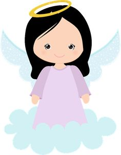 CUTE ANGEL CLIP ART