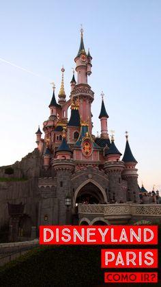 Detalhamos a melhora forma de ir para a Disneyland Paris