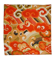 Jack Lenor Larsen textile - (Happiness - lacquer red) Textiles and Costumes | Henry Art Gallery