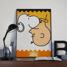 The peanuts movie fan art poster design