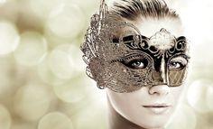 Athena - asymmetrical greek-style mask
