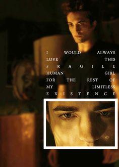Twilight ~ Edward and Bella Twilight Saga Quotes, Twilight Saga Series, Twilight Series, Twilight Movie, Vampire Twilight, Robert Pattinson Twilight, Sun Quotes, Book Quotes, Edward Cullen Quotes