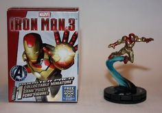 FCBD Version  Marvel Heroclix Iron Man 3 Iron Man MARQUEE figure and online  *** Click on the image for additional details.