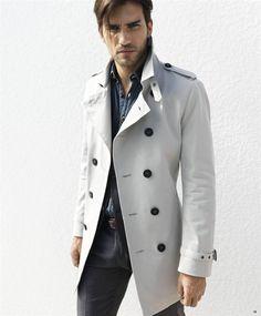 trench coat white men - Google 検索